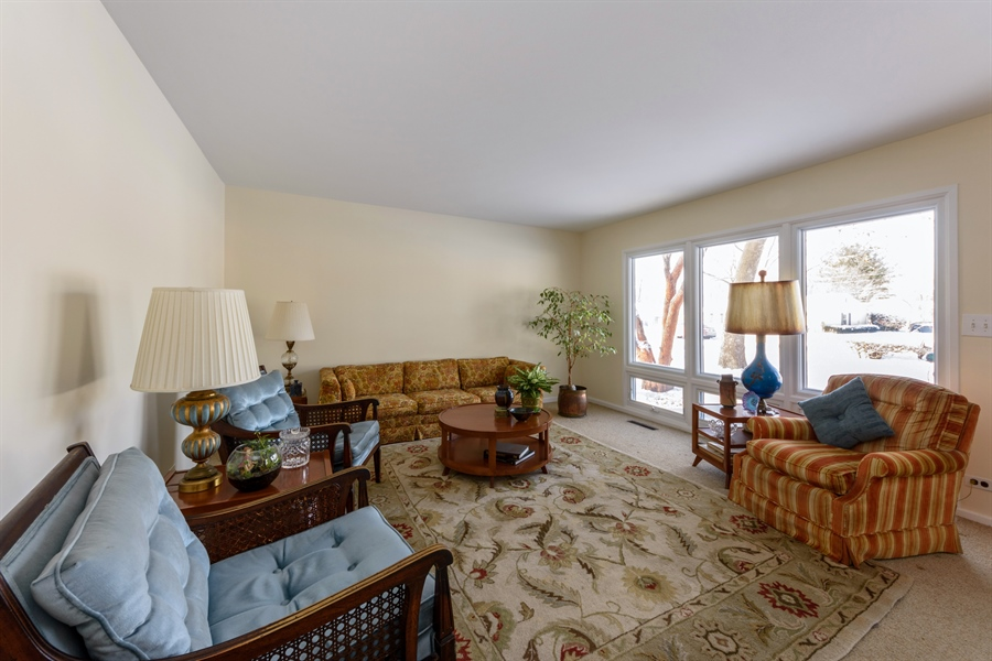 Real Estate Photography - 3323 Thornberry Drive, Glenview, IL, 60025 - Living Room