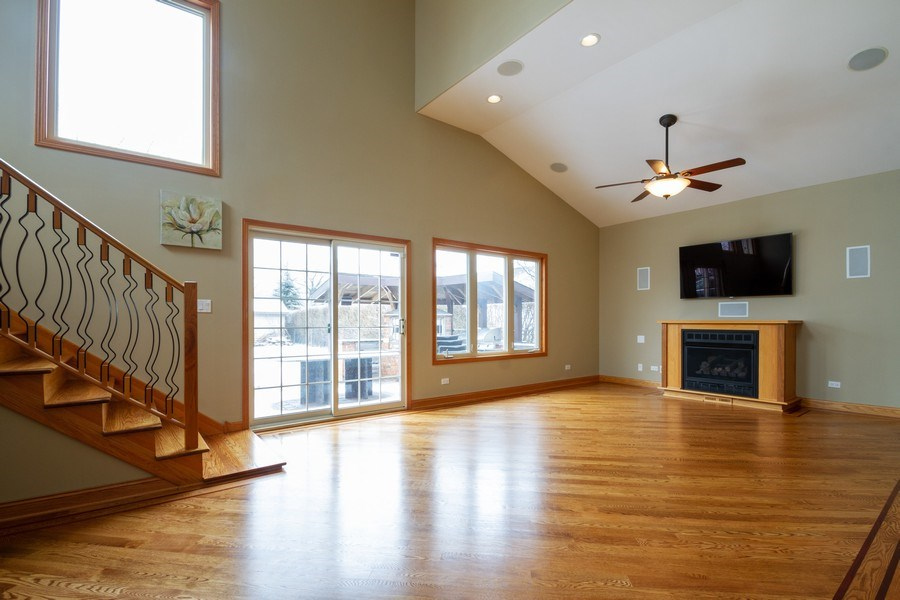 Real Estate Photography - 7704 W Monroe, Niles, IL, 60714 - Living Room