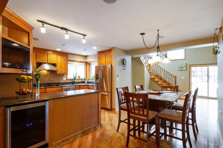 Real Estate Photography - 7704 W Monroe, Niles, IL, 60714 - Kitchen