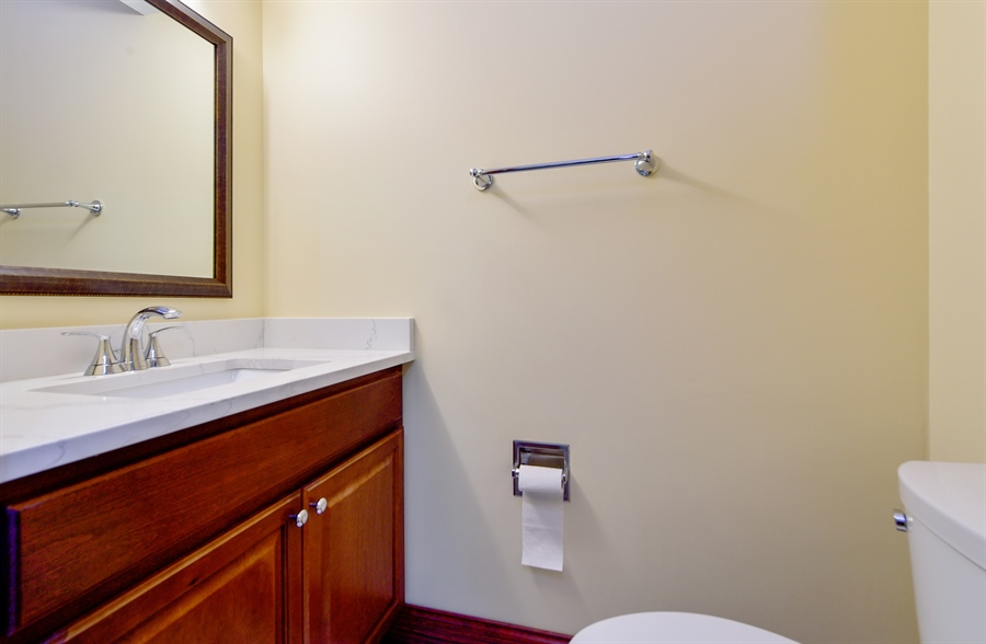 Real Estate Photography - 820 Red Stable Way, Oak Brook, IL, 60523 - Powder Room