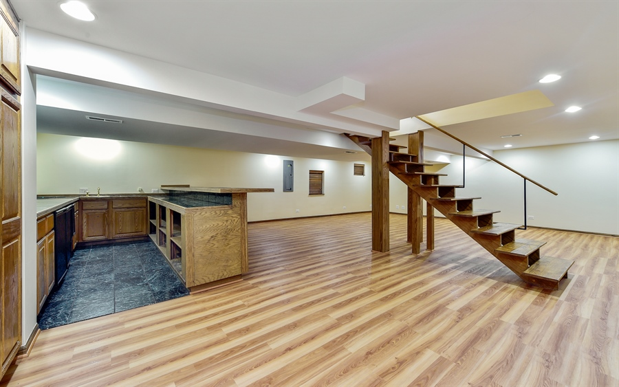 Real Estate Photography - 820 Red Stable Way, Oak Brook, IL, 60523 - Basement