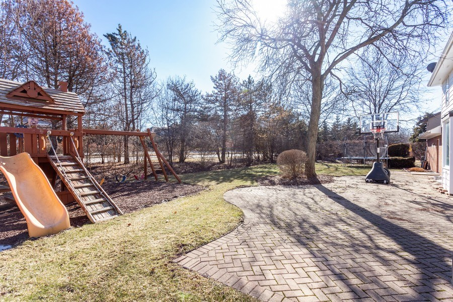Real Estate Photography - 820 Red Stable Way, Oak Brook, IL, 60523 - Back Yard