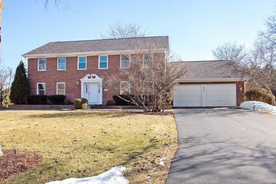 Real Estate Photography - 820 Red Stable Way, Oak Brook, IL, 60523 - Front View