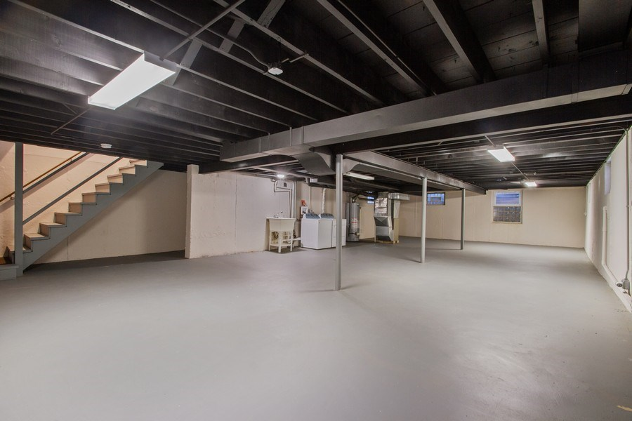Real Estate Photography - 1346 London, Glenview, IL, 60025 - Basement