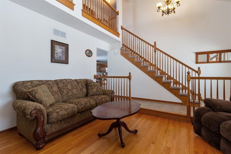 Real Estate Photography - 1924 Claire Dr, Bourbonnais, IL, 60914 - Living Room