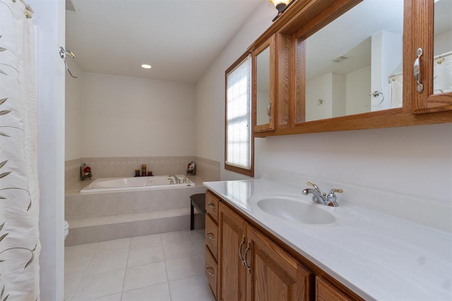 Real Estate Photography - 1924 Claire Dr, Bourbonnais, IL, 60914 - Master Bathroom