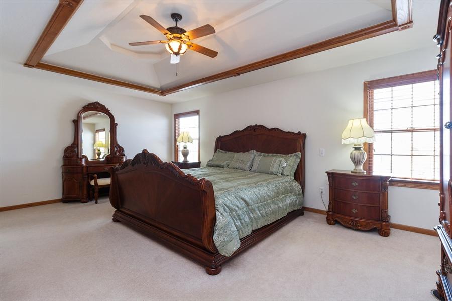 Real Estate Photography - 1924 Claire Dr, Bourbonnais, IL, 60914 - Master Bedroom