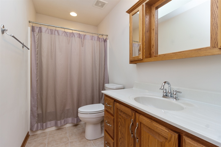 Real Estate Photography - 1924 Claire Dr, Bourbonnais, IL, 60914 - Bathroom