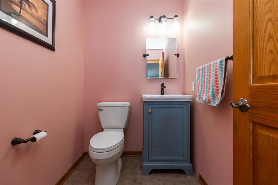 Real Estate Photography - 1924 Claire Dr, Bourbonnais, IL, 60914 - 2nd Bathroom