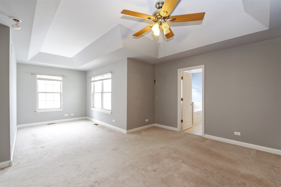 Real Estate Photography - 2660 Goldenrod Ln, Glenview, IL, 60025 - Master Bedroom