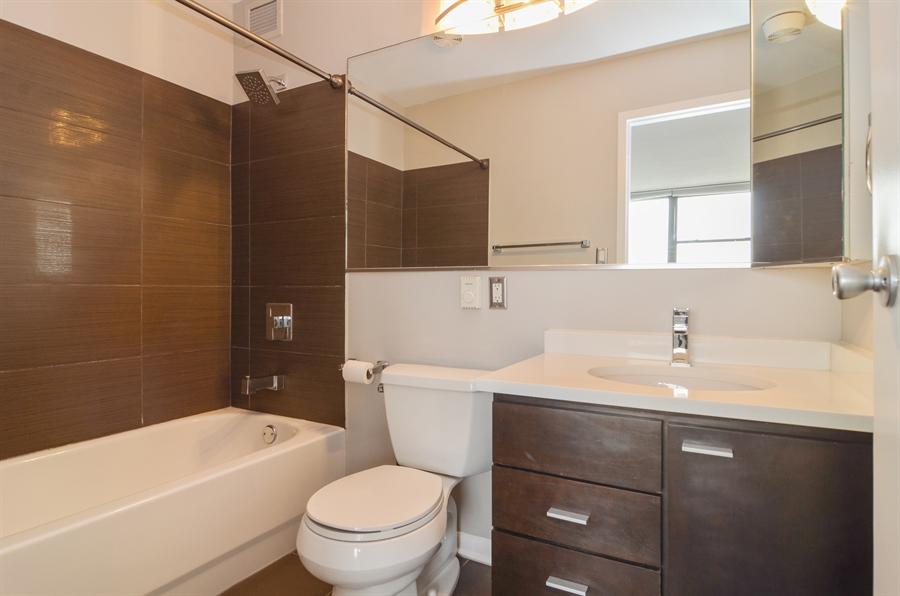Real Estate Photography - 2700 N Hampden, Unit 15B, Chicago, IL, 60614 - Master Bathroom
