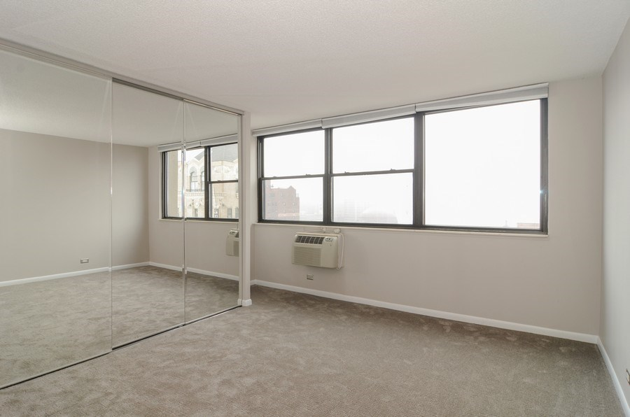 Real Estate Photography - 2700 N Hampden, Unit 15B, Chicago, IL, 60614 - Master Bedroom