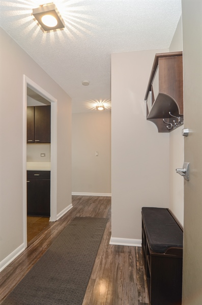 Real Estate Photography - 2700 N Hampden, Unit 15B, Chicago, IL, 60614 - Foyer