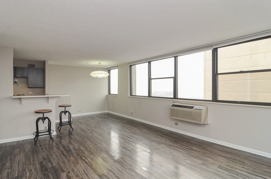 Real Estate Photography - 2700 N Hampden, Unit 15B, Chicago, IL, 60614 - Dining Area