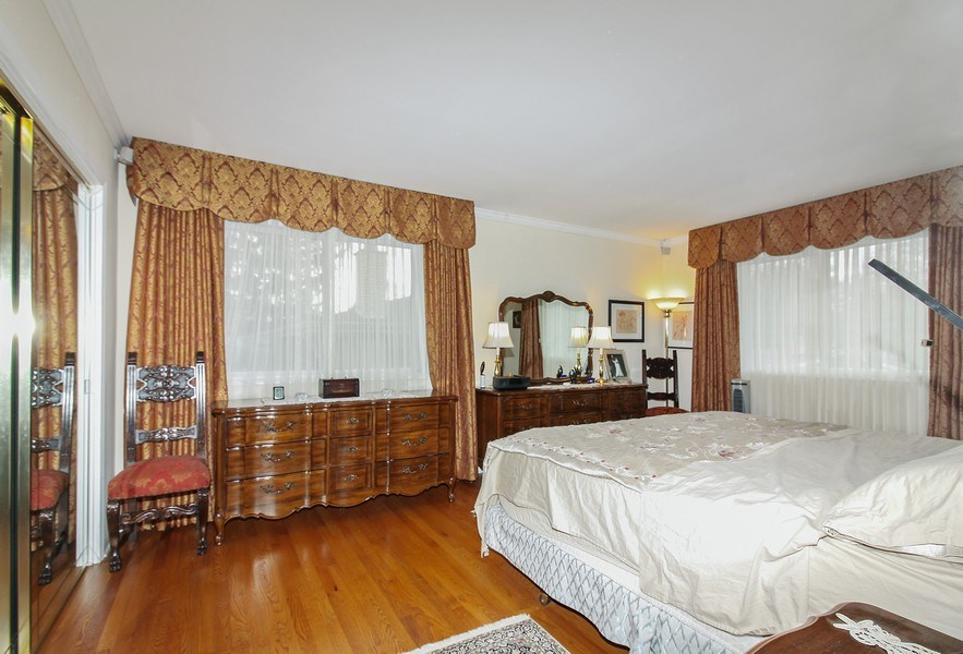 Real Estate Photography - 5316 Howard Ave, Western Springs, IL, 60558 - Master Bedroom