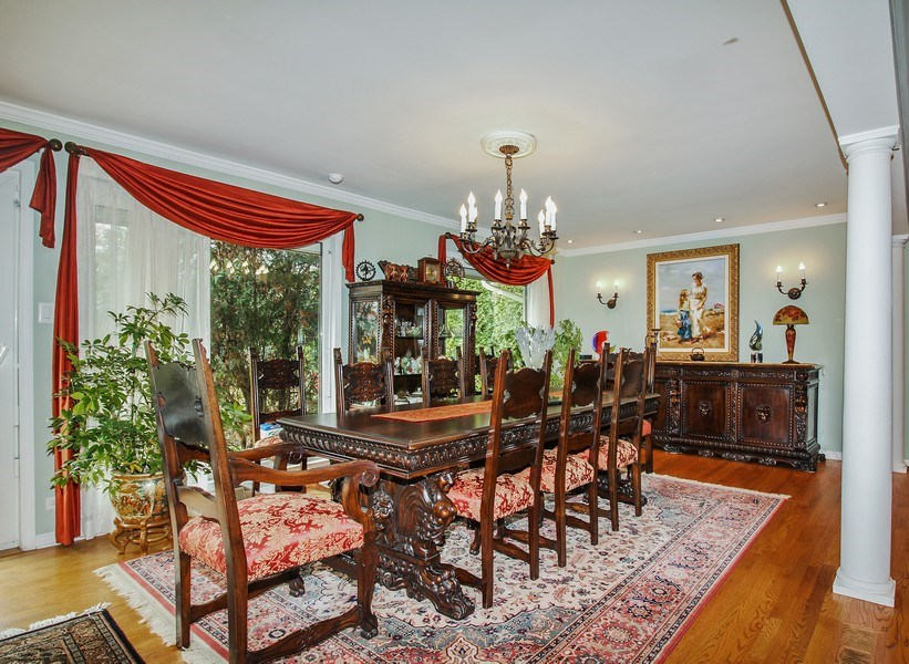Real Estate Photography - 5316 Howard Ave, Western Springs, IL, 60558 - Dining Room