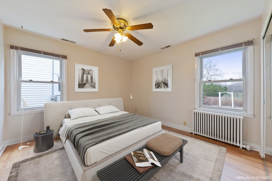 Real Estate Photography - 4052 Western, Western Springs, IL, 60558 - 3rd Bedroom