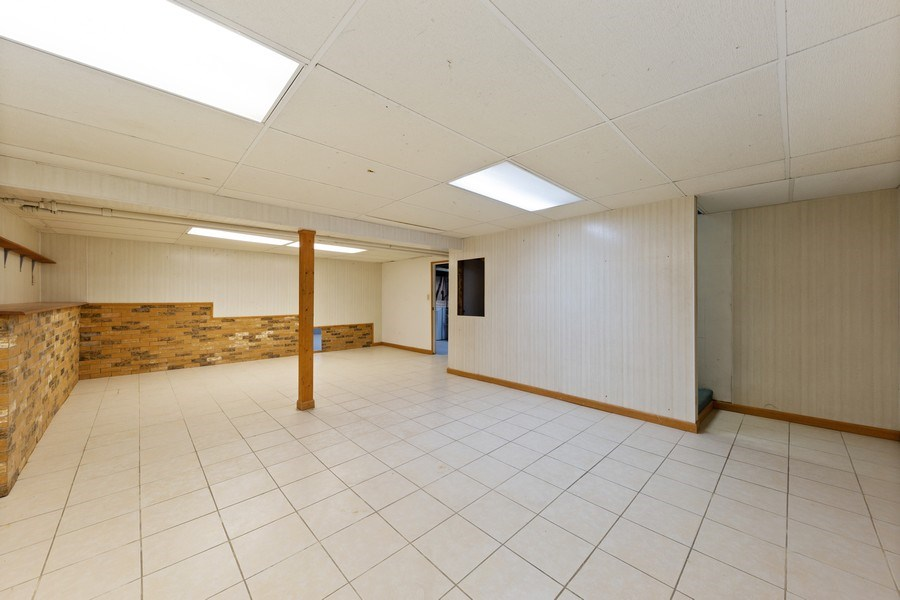 Real Estate Photography - 4052 Western, Western Springs, IL, 60558 - Basement