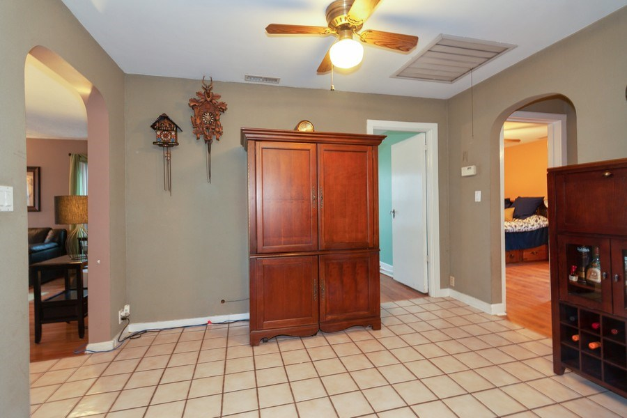 Real Estate Photography - 4052 Western, Western Springs, IL, 60558 - Dining Area