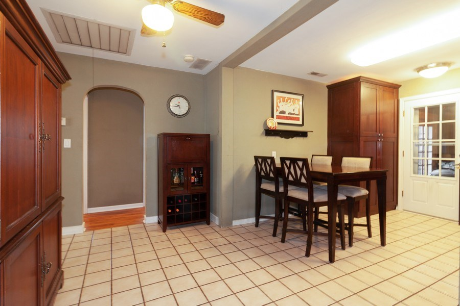 Real Estate Photography - 4052 Western, Western Springs, IL, 60558 - Dining Room