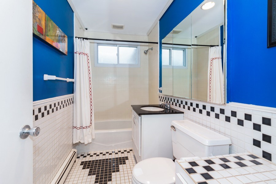 Real Estate Photography - 4052 Western, Western Springs, IL, 60558 - Bathroom