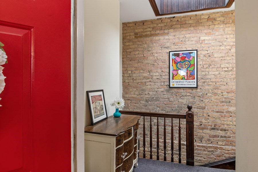 Real Estate Photography - 1367 W. Erie, Unit 4, Chicago, IL, 60642 - Foyer