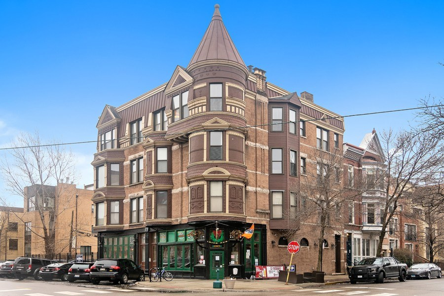 Real Estate Photography - 1367 W. Erie, Unit 4, Chicago, IL, 60642 - Front View