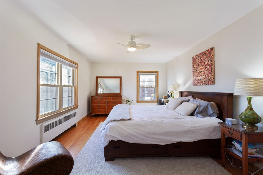 Real Estate Photography - 4205 Western Ave, Western Springs, IL, 60558 - Master Bedroom
