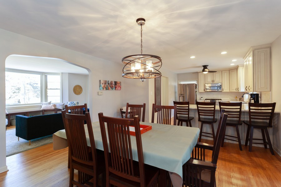 Real Estate Photography - 4205 Western Ave, Western Springs, IL, 60558 - Dining Area