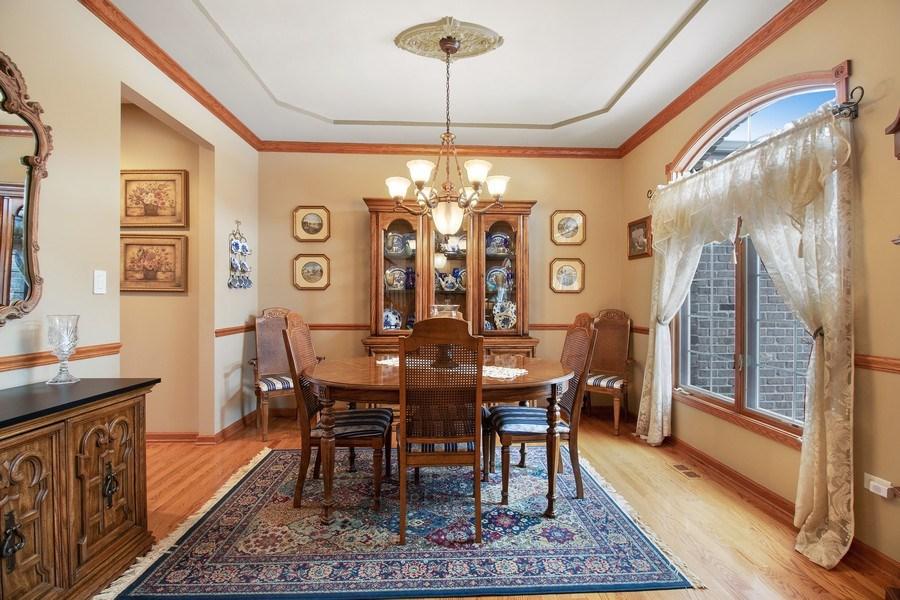 Real Estate Photography - 16220 Ridgewood, Homer Glen, IL, 60491 - Dining Room