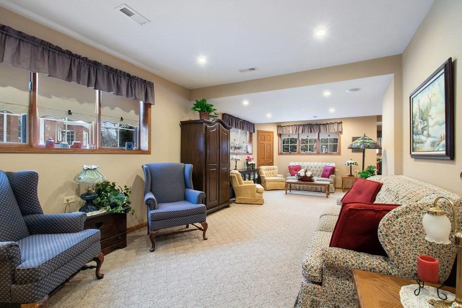 Real Estate Photography - 16220 Ridgewood, Homer Glen, IL, 60491 - Basement