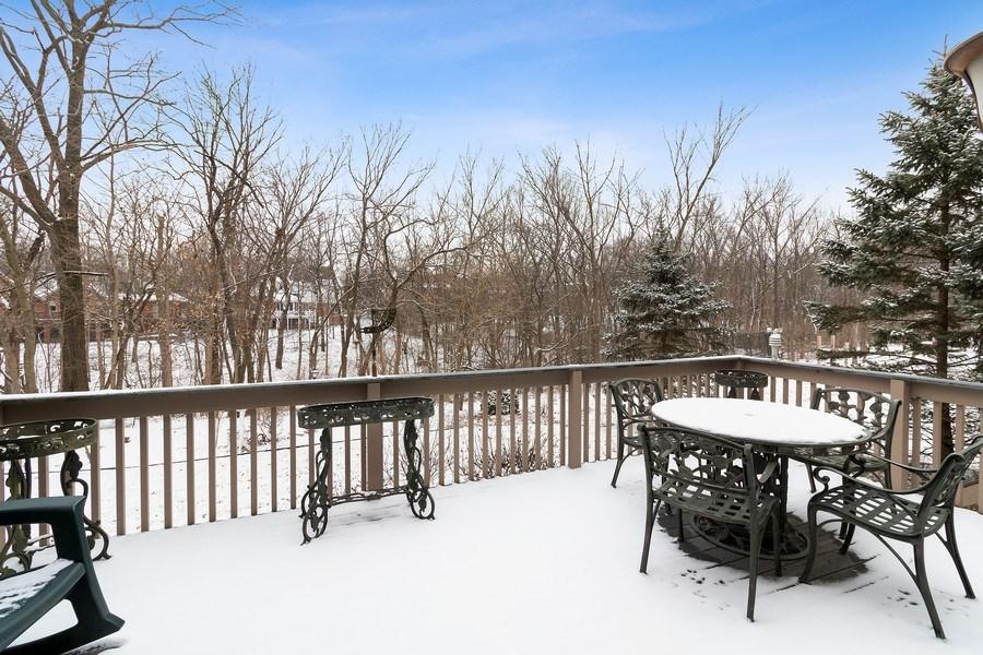 Real Estate Photography - 16220 Ridgewood, Homer Glen, IL, 60491 - Back Yard