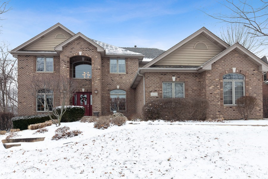 Real Estate Photography - 16220 Ridgewood, Homer Glen, IL, 60491 - Front View