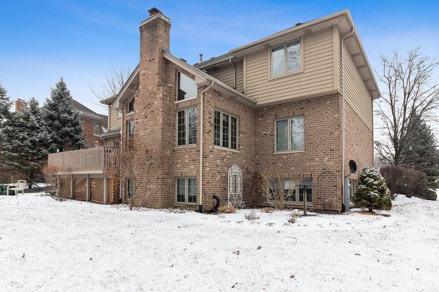 Real Estate Photography - 16220 Ridgewood, Homer Glen, IL, 60491 - Rear View