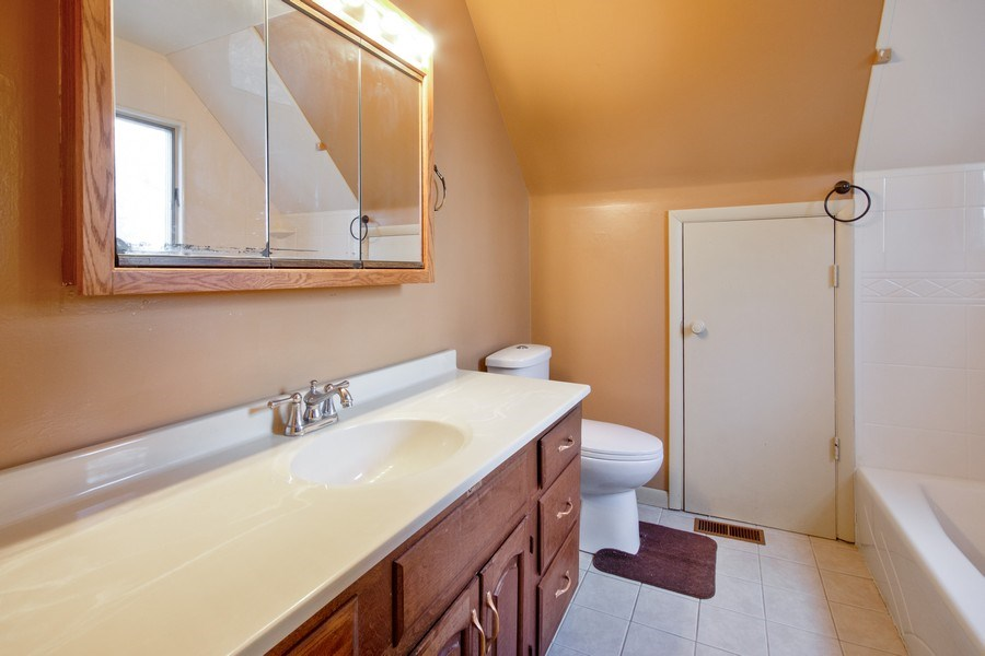 Real Estate Photography - 10869 W 3000 North Rd, Bonfield, IL, 60913 - Master Bathroom