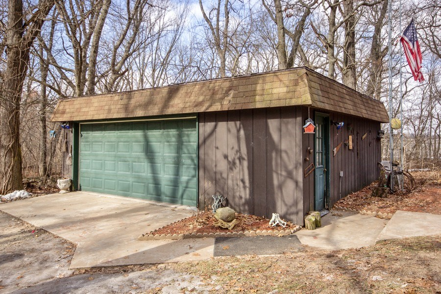 Real Estate Photography - 10869 W 3000 North Rd, Bonfield, IL, 60913 - Garage