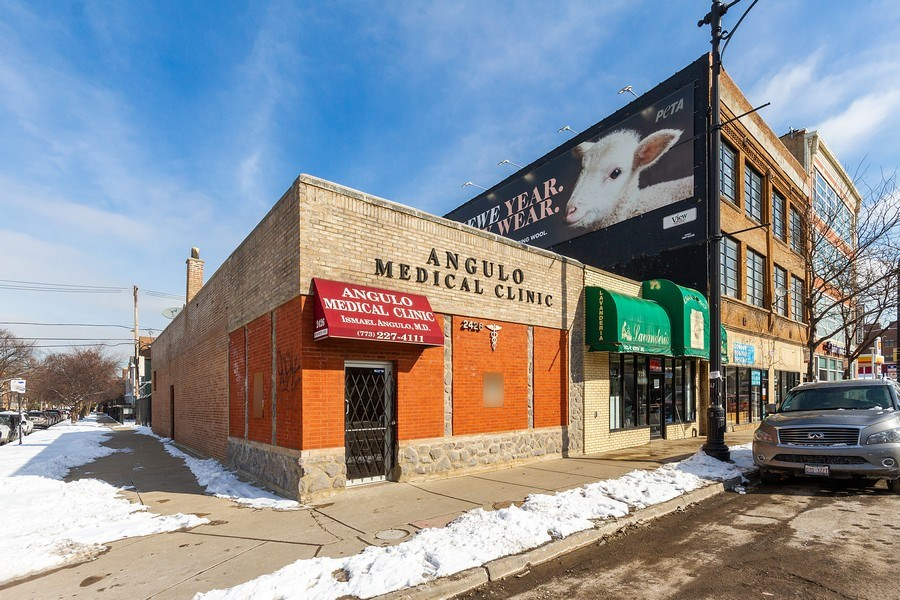 Real Estate Photography - 2422 W. North Ave., Chicago, IL, 60647 - Front View