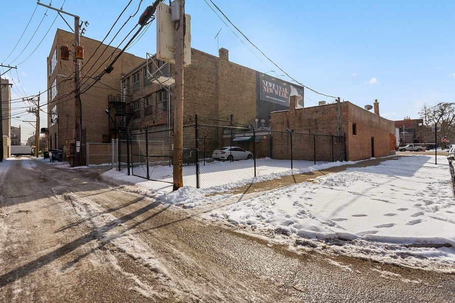 Real Estate Photography - 2422 W. North Ave., Chicago, IL, 60647 - Rear View