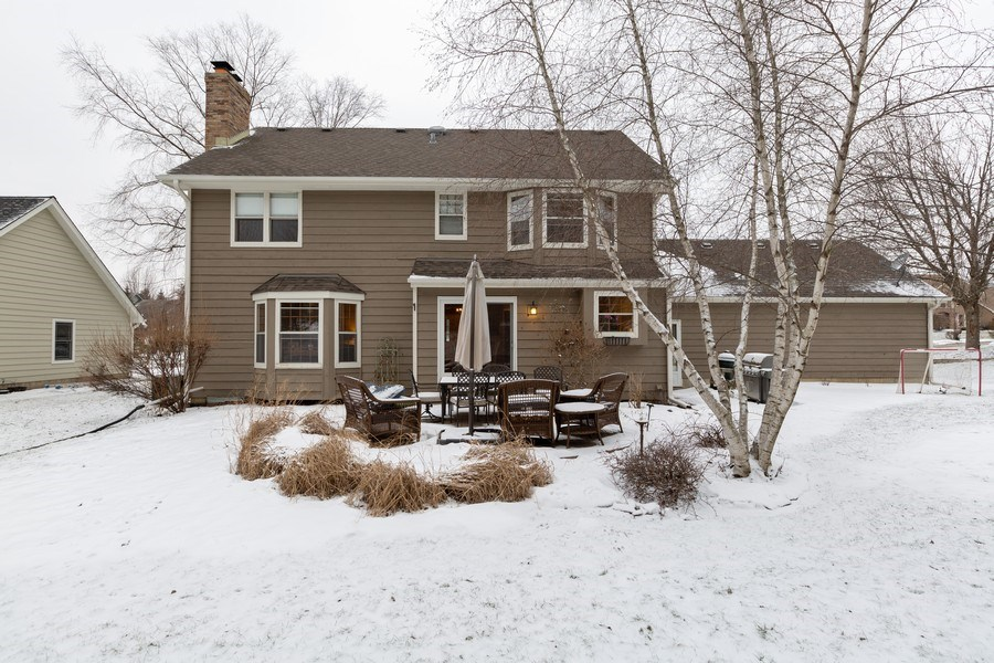 Real Estate Photography - 601 Greens View Drive, Algonquin, IL, 60102 - Rear View