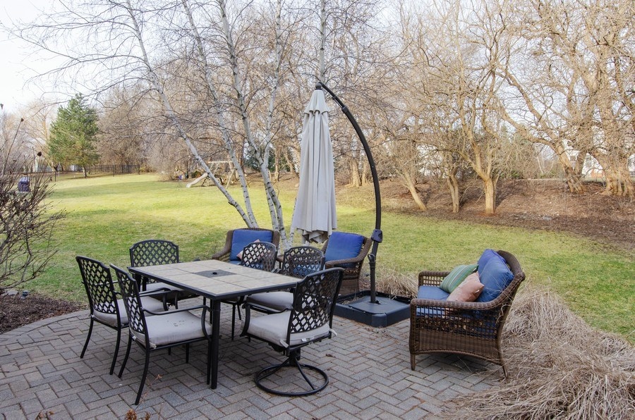 Real Estate Photography - 601 Greens View Drive, Algonquin, IL, 60102 - Patio