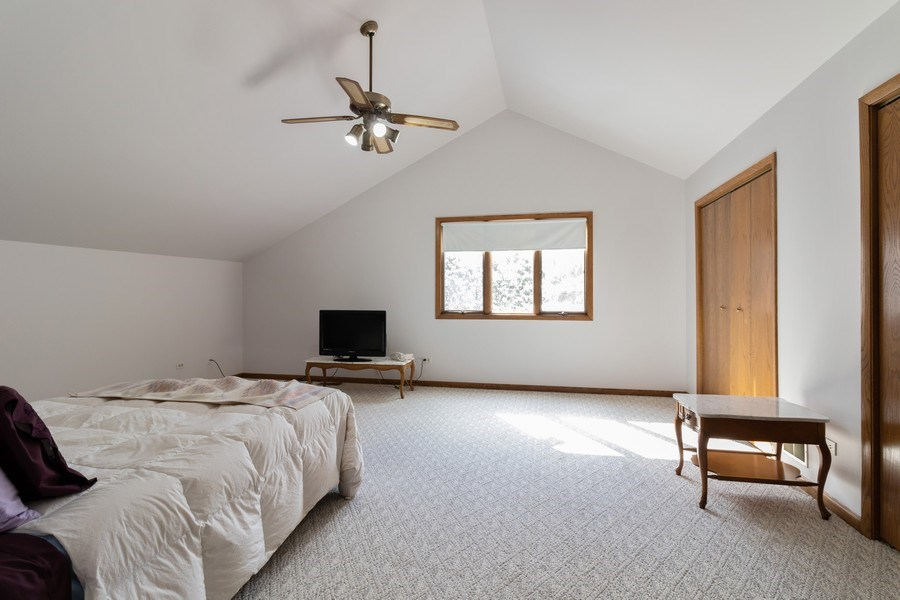 Real Estate Photography - 14855 Westwood Drive, Orland Park, IL, 60462 - Bedroom