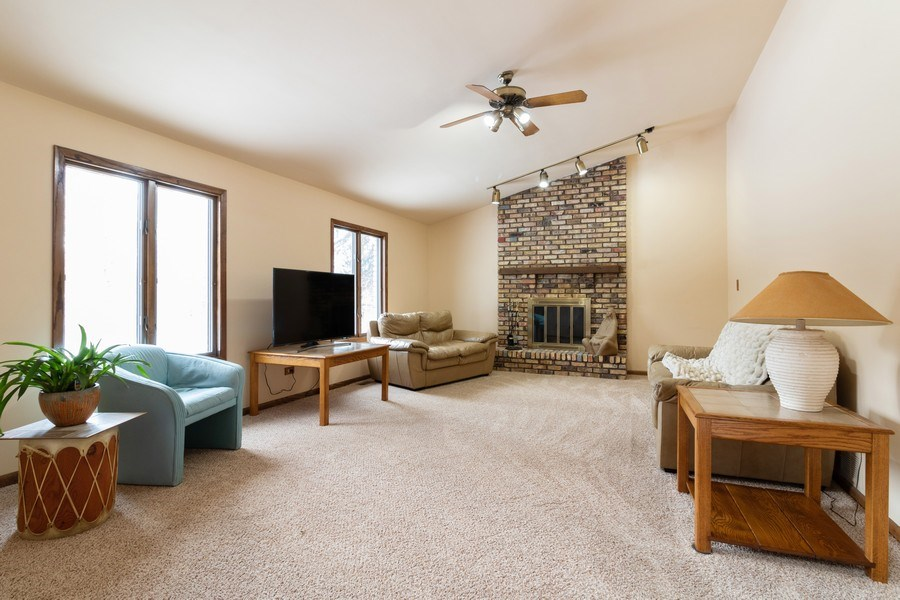 Real Estate Photography - 14855 Westwood Drive, Orland Park, IL, 60462 - Family Room