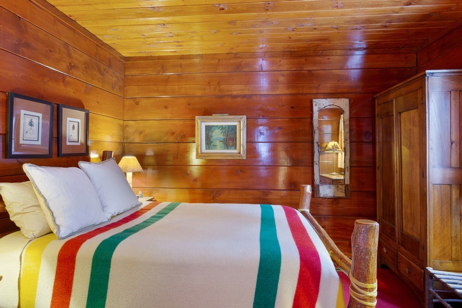 Real Estate Photography - 316 Dreamworld Way, Michiana Shores, IN, 46360 - Bedroom