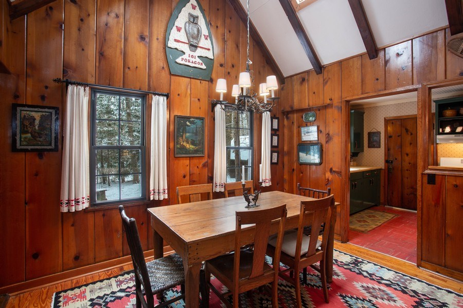 Real Estate Photography - 316 Dreamworld Way, Michiana Shores, IN, 46360 - Dining Room