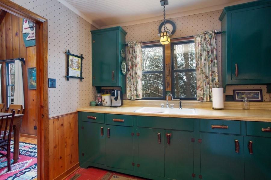 Real Estate Photography - 316 Dreamworld Way, Michiana Shores, IN, 46360 - Kitchen