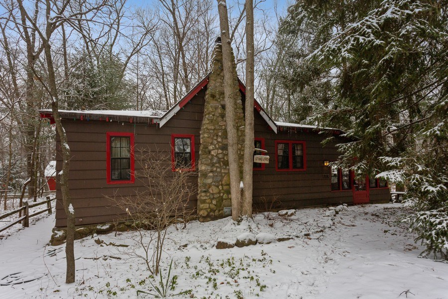 Real Estate Photography - 316 Dreamworld Way, Michiana Shores, IN, 46360 - Front View