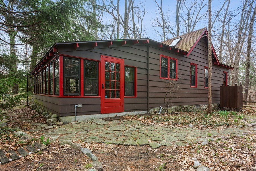 Real Estate Photography - 316 Dreamworld Way, Michiana Shores, IN, 46360 - Rear View