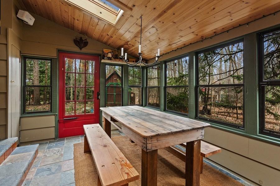 Real Estate Photography - 316 Dreamworld Way, Michiana Shores, IN, 46360 - Porch