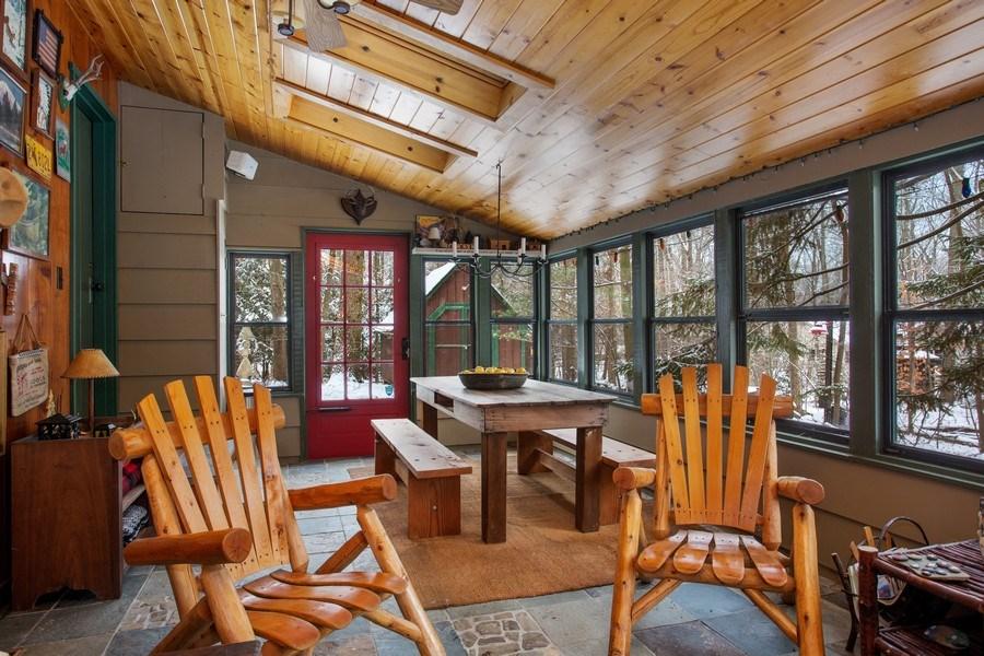 Real Estate Photography - 316 Dreamworld Way, Michiana Shores, IN, 46360 - Deck