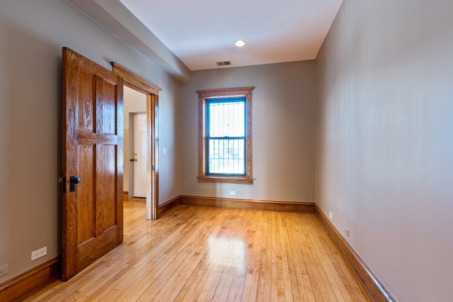 Real Estate Photography - 5356 S Indiana, #2S, Chicago, IL, 60615 - Master Bedroom